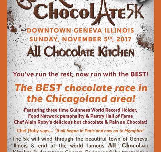 Ooh La La Chocolate 5K -  Chicago Sweetest Run 2018